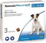 Таблетки от блох и клещей Фронтлайн Нексгард для собак 4-10кг 3т.*28,3мг