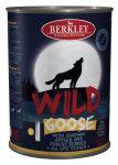 Корм для собак Berkley WILD Гусь с цукини яблоками и лесными ягодами  №1 консервы 400г