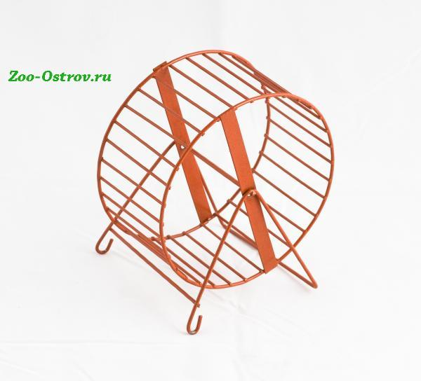ВАКА: Колесо для хомяка Вака d125мм металл .В зоомагазине ЗооОстров товары производителя БИОСФЕРА (ВАКА) Россия. Доставка.