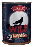 Корм для собак Berkley WILD Ягненок с тыквой, шпинатом и лесными ягодами №2 консервы 400г
