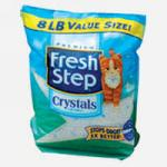 Наполнитель для туалета Fresh Step Crystals силикагель 3.62кг