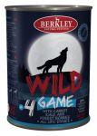 Корм для собак Berkley WILD Дичь (оленина) с морковью, капустой и лесными ягодами №4 консервы  400г