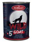 Корм для собак Berkley WILD Коза с сельдереем, яблоками и лесными ягодами №5 консервы 400г