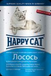 Консервы для кошек Happy Cat лосось ломтики 100г