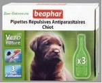 Капли от блох и клещей Beaphar BIO для щенков, 3 пипетки