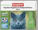 Капли Beaphar BIO для кошек против блох и клещей, 3 пипетки