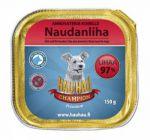 Корм для собак Hau-Hau Champion паштет из говядины для собак консервы 150г