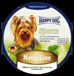 Консервы для собак Happy Dog Кролик паштет 85г