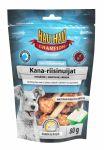 Лакомство для собак Hau-Hau Champion 2in1 Chicken-rice dumbbell гантельки из курицы с рисом 80 г