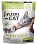 Корм для кошек PrimaCat DeLuxe Turkey-light с мясом индейки облегченный для взрослых сухой 400 г