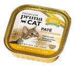 Корм для кошек PrimaCat Pate with chicken паштет из курицы консервы 100г