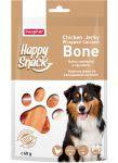Лакомства Beaphar Happy Snack Куриное филе на кальциевой косточке для собак 60г