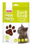 Лакомства Beaphar Happy Snack Ароматные кусочки мяса утки для кошек 40г