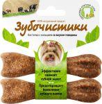 Лакомство Деревенские лакомства Зубочистики со вкусом говядины для собак мелких пород  2x18г