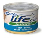Консервы для кошек Lifecat Tuna тунец в бульоне 150г