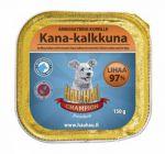 Корм для собак Hau-Hau Champion паштет из курицы с индейкой для собак консервы 150г