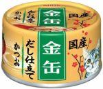 Корм для кошек Aixia  Kin-Can Dashi полосатый тунец консервы 70г