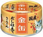 Корм для кошек Aixia  Kin-Can Dashi куриное филе консервы 70г
