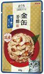 Корм для кошек Aixia  Kin-Can Hojyun тунец и сушеный бонито в желе пауч 60г