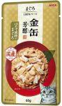 Корм для кошек Aixia  Kin-Can Hojyun тунец и гребешок в желе пауч 60г