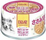 Корм для кошек Aixia  MiawMiaw Tobikiri куриное филе консервы 60г