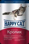 Консервы для кошек Happy Cat кролик 100г