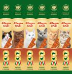 Колбаски для кошек B&B Allegro Cat Курица-Печень 60шт ШОУ БОКС