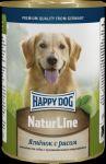 Консервы для собак Happy Dog Ягненок с рисом  400г