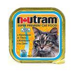 Корм для кошек Nutram с КРОЛИКОМ консервы 100гр 1/30
