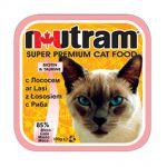 Корм для кошек Nutram с ЛОСОСЕМ консервы 100гр