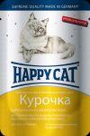 Консервы для кошек Happy Cat курочка ломтики 100г