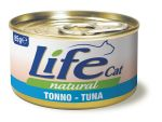 Консервы для кошек Lifecat Tuna тунец в бульоне 85г