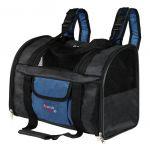 Сумка - рюкзак для собак до 8 кг, нейлон, черно/синий Trixie 2882