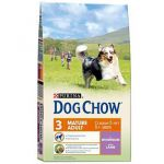 Корм для собак Dog Chow Adult Mature 5+ ягненок для собак старше 5 лет сухой 0.8кг
