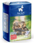 Подгузники Pet Soft Diaper XS (вес 2-4кг,талия 22-40см ) 3 цвета 12шт