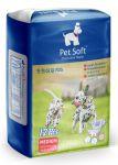 Подгузники Pet Soft Diaper M (6-11кг,талия 30-50см) 3 цвета 12шт