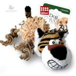 Игрушка Тигр с пищалкой.GiGwi 75098
